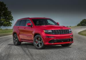 Jeep Grand Cherokee SRT Red Vapor 2015 года